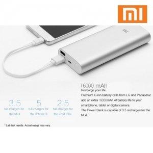 внешний аккумулятор Xiaomi Mi Power Bank 16000 Mah инструкция - фото 9