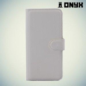 Чехол книжка для HTC Desire 650 - Белый