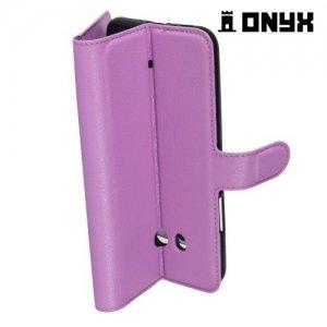 Чехол книжка для HTC U11 - Фиолетовый