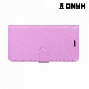 Чехол книжка для Huawei Nova 2i - Фиолетовый