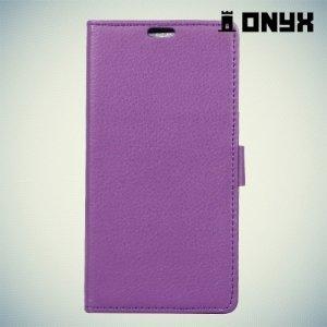 Чехол книжка для LG K8 2017 X300 - Фиолетовый