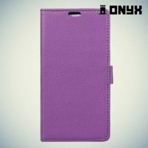 Чехол книжка для Meizu U10 - Фиолетовый