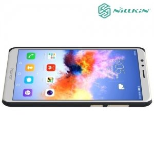 Чехол накладка Nillkin Super Frosted Shield для Huawei Honor 7X - Черный