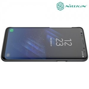 Чехол накладка Nillkin Super Frosted Shield для Samsung Galaxy S9 Plus - Черный
