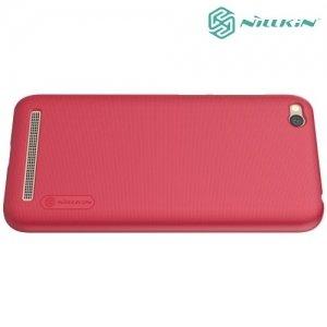 Чехол накладка Nillkin Super Frosted Shield для Xiaomi Redmi 5a - Красный