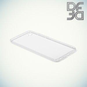 DF aCase силиконовый чехол для Meizu U10 - Прозрачный