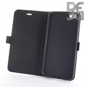DF флип чехол книжка для Xiaomi Mi 5c - Черный