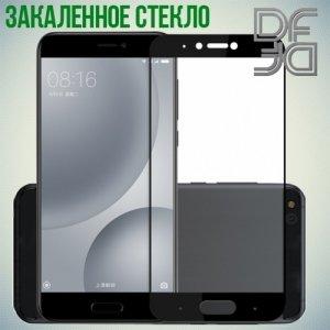 DF Закаленное защитное стекло на весь экран для Xiaomi Mi 5c - Черный
