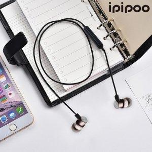 IPIPOO беспроводные bluetooth наушники гарнитура с микрофоном