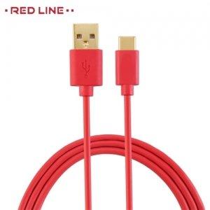 Кабель USB Type-C Красный Red Line