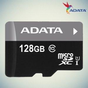 Карта памяти для телефона microSD XC ADATA 128 Gb Class 10