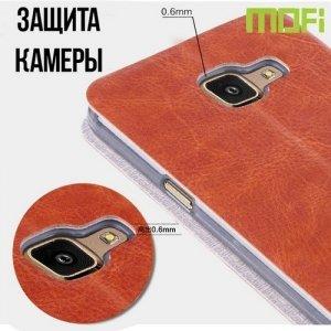 MOFI чехол флип книжка для Samsung Galaxy A7 2016 SM-A710F - Черный