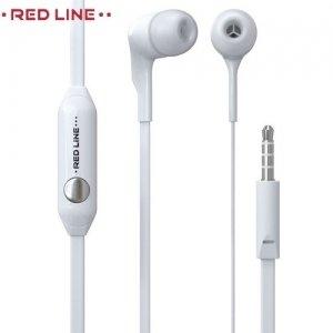 Наушники с микрофоном Red Line E01 - Белые