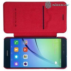 Nillkin Qin Series чехол книжка для Huawei P10 Lite - Красный