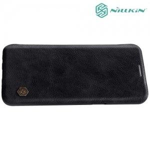 Nillkin Qin Series чехол книжка для Samsung Galaxy S9 - Черный