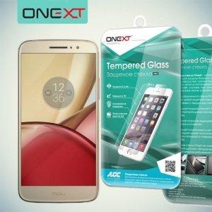 OneXT Закаленное защитное стекло для Moto M
