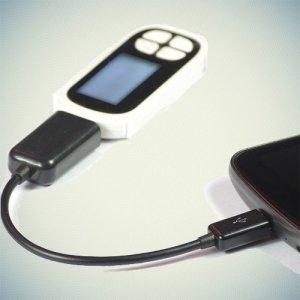 OTG кабель переходник Micro USB в USB для смартфонов