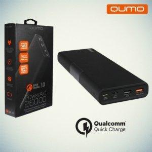 QUMO PowerAid 26000 Портативный внешний аккумулятор c Qualcomm Quick Charge 3.0 и USB Type-C