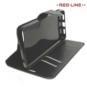 Red Line чехол книжка для Asus Zenfone 4 Max ZC520KL - Черный