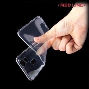 Red Line силиконовый чехол для Asus ZenFone 3 Zoom ZE553KL - Прозрачный