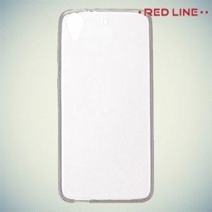 Red Line силиконовый чехол для HTC Desire 626 / 628 - Прозрачный