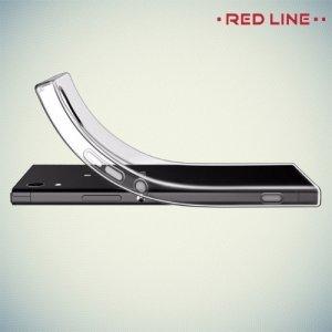 Red Line силиконовый чехол для Sony Xperia XA1 Ultra - Прозрачный