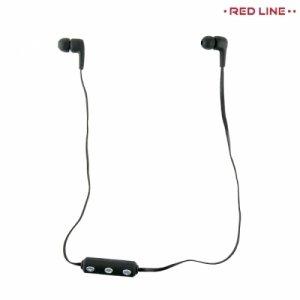 RedLine BHS-03 беспроводные bluetooth наушники гарнитура с микрофоном - Черный