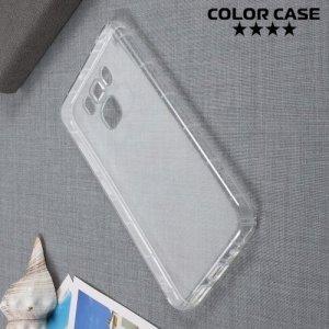 Силиконовый чехол для Asus Zenfone 3 Max ZC553KL противоударный - Прозрачный