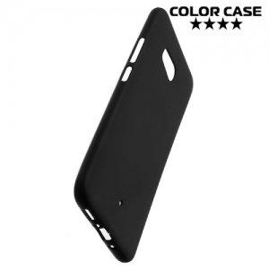 Силиконовый чехол для HTC U11 - Матовый Черный
