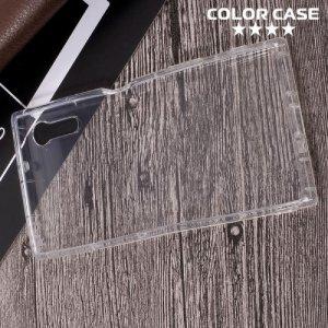 Силиконовый чехол для Sony Xperia XZ / XZs противоударный - Прозрачный