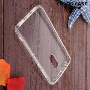 Силиконовый чехол для Xiaomi Redmi Note 4 противоударный - Прозрачный