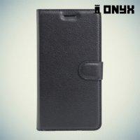 Чехол книжка для ASUS ZenFone Go ZB452KG - Черный