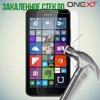 OneXT Закаленное защитное стекло для Microsoft Lumia 640 XL (3G, LTE, Dual Sim)
