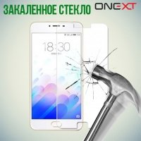 OneXT Закаленное защитное стекло для Meizu U10