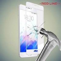 Red Line Закаленное защитное стекло для Meizu m3s mini на весь экран