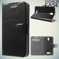 Чехол флип книжка для Lenovo A2010 - Черный