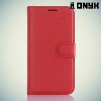 Чехол книжка для Samsung Galaxy S7 Edge - Красный