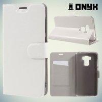 Чехол книжка для Asus ZenFone 3 Max ZC553KL - Белый