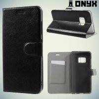 Чехол книжка для Asus Zenfone AR ZS571KL - Черный