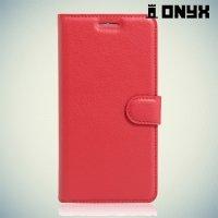 Чехол книжка для Huawei Honor 5C - Красный