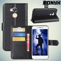 Чехол книжка для Huawei Honor 6A - Черный