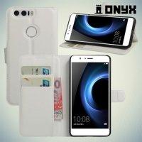 Чехол книжка для Huawei Honor 8 - Белый