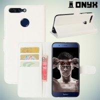 Чехол книжка для Huawei Honor 8 Pro - Белый