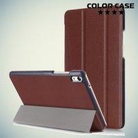 Чехол книжка для Huawei Honor Pad 2 - Коричневый