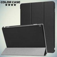 Чехол книжка для Huawei MediaPad M3 Lite 10 - Черный