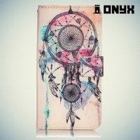 Чехол книжка для iPhone 8 Plus / 7 Plus - Ловец снов