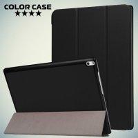 Чехол книжка для Lenovo Tab 4 10 Plus - Черный