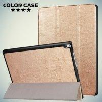 Чехол книжка для Lenovo Tab 4 10 Plus - Золотой