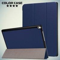 Чехол книжка для Lenovo Tab 4 10 Plus - Синий