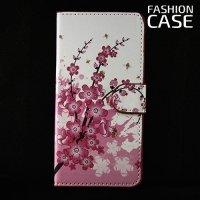 Чехол книжка для Samsung Galaxy A5 2016 SM-A510F - с рисунком Сакура